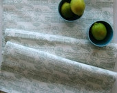 Medium Table runner, Happy Union print