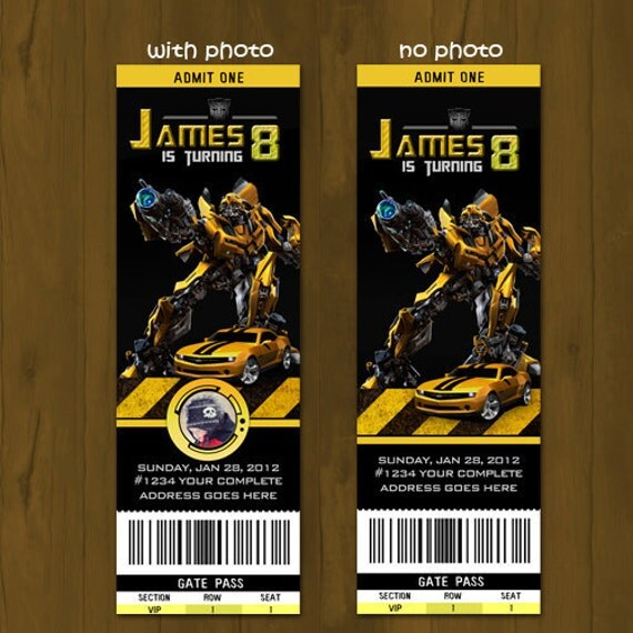Transformers Birthday Invitations is the best ideas you have to choose for invitation example