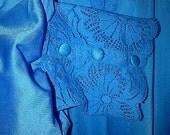 Vintage BLUE Shadowline Robe