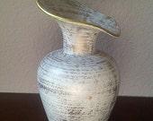 ROYAL HAEGER Gold Tweed Glaze Vase