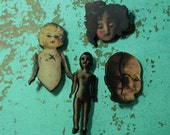 Broken dolls creepy scatter pins