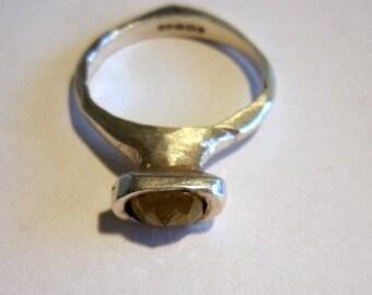 Designer made diamond ring
