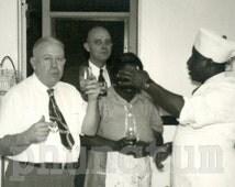 Minny Gets a Surprise Antique Photo Black Maid Kitchen Chef