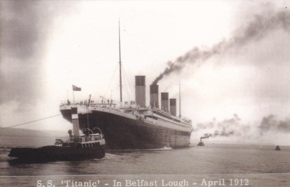 A Pair of Titanic Postcards