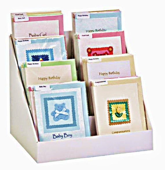 12 Inch Greeting Card Display Stand - Easy To Assemble - You Tube ...