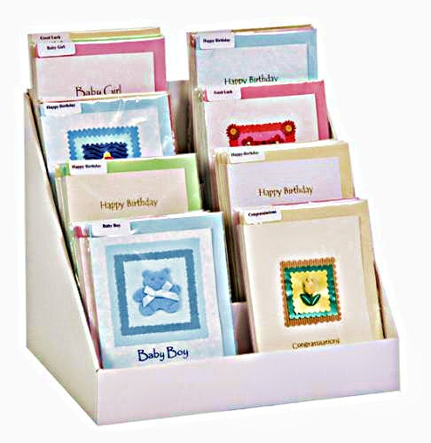 12 Inch Greeting Card Display Stand Easy To Assemble You