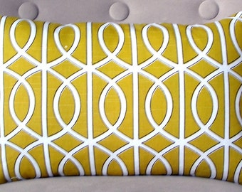 Pillow Cover Lumbar pillow accent pillow cushion cover 12x18 inches
