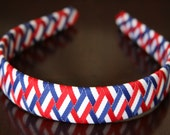Red, White & Blue Woven Headband - Perfect for the 4th of July