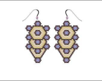 Tree of Life Earings - PDF pattern