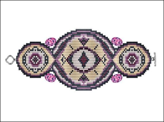 Eye of Trinity Bracelet - PDF pattern