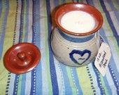 13 oz. Country Crock with Lid Style Soy Candle