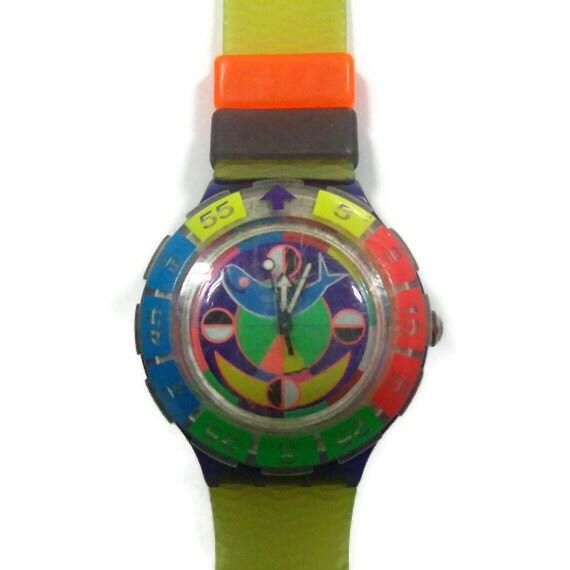 Multicolor Swatch Scuba 200