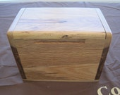 Recipe Box, Heirloom Quality Index Box, Promise Box, Contact Info