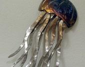 Jellyfish Wall Art - Stainless Steel