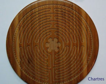 Finger Labyrinth - Chartres Bamboo Labyrinth