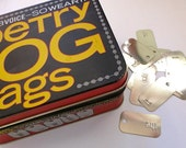 Poetry Dog Tags