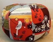 Ottoman Pouf Floor Pillow/Seat Alexander Henry Beverly Glen