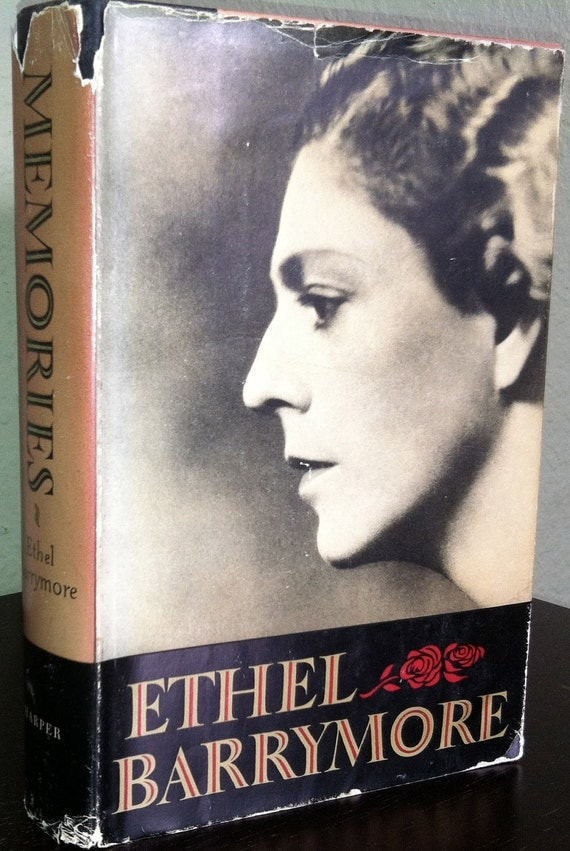 Memories - Ethel Barrymore (first edition)