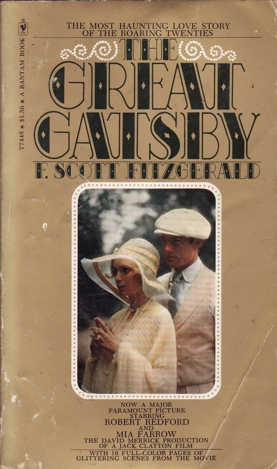 The Great Gatsby (movie edition) - F. Scott Fitzgerald