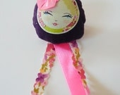 Handmade  brooch: Colorful and sweety