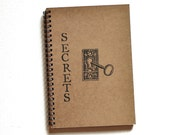 skeleton key lock diary notebook journal Secrets - TheBlackSpruce
