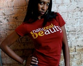 Natureal Beauty (Crew Neck) - Cranberry - Large