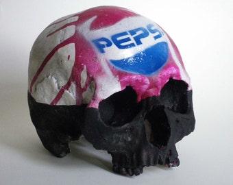 Human Skull Pepsi