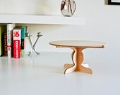 Wood Cake Stand B in Maple