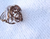 sewing BOBBIN RING - BROWN