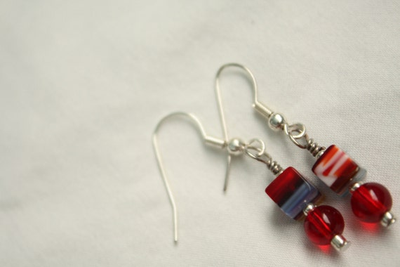 Dun' Be a Square Earrings - RED