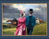 Siamese Cat Fine Art Canvas Print - Derby in Epsom