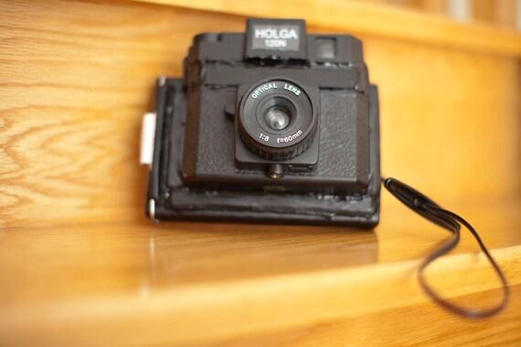 Square Instant Holga Camera with 1 extra film pack