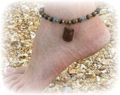 Tiger Eye Anklet