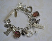 CUSTOM Memento Photo Charm Bracelet Made to Order