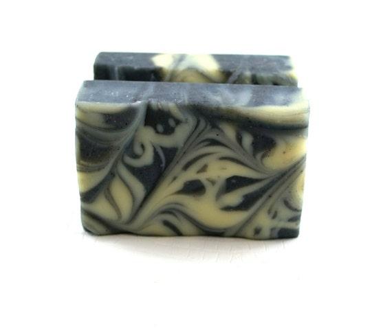 Pine, Vetiver, Black Pepper Soap -  Charcoal Soap - Men Soap - Granite Charcoal Vegan Soap