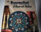 Rosmaling A Brush with Tradition-Paint book