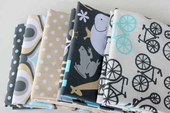 Michael Miller Bicylces and More Fat Quarter Bundle