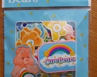 Care Bears STICKER FLAKES 100 Pcs I