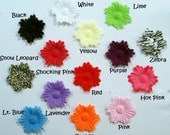 """25 Fun New Funky Flower Petals-3"""" -You Choose Color"""