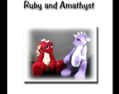 Needle Felted Baby Dragon Pattern Booklet PDF