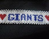 New York Giants or Personalized Bracelet