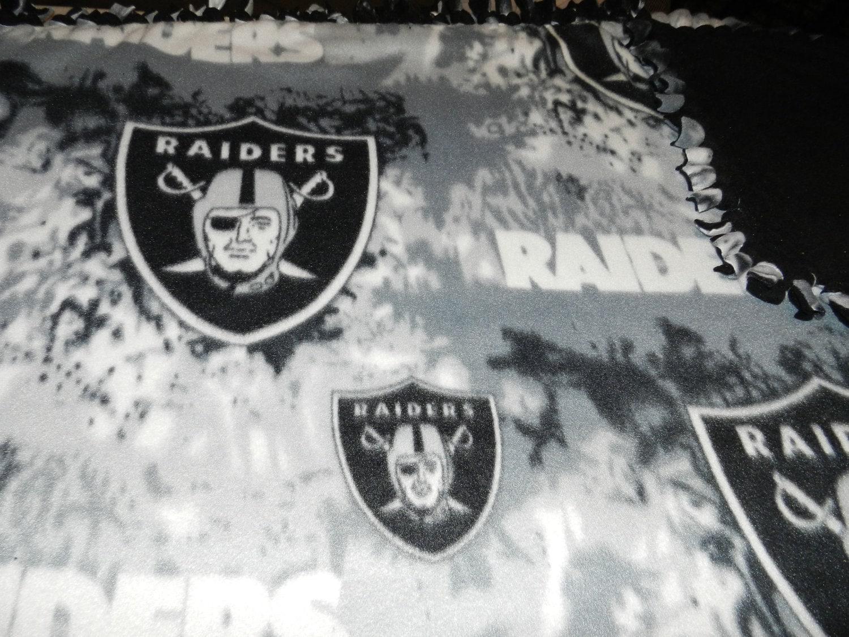 Crochet Nfl Blankets Nfl Oakland Raiders Blanket