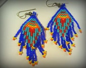 WHOLESALE Sultry, Sexy Summertime: FIVE Pair of Indian Glass Seed Bead Earrings