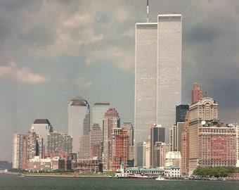 New York Cityscape 2000  - -  Cross Stitch Pattern From a Fine Art Photograph - Fiber Art