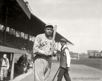 Old Vintage Photo - Babe Ruth