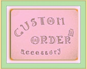 Custom order for Jenny Evans