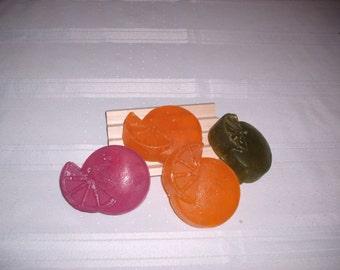 Fruit shaped Soaps