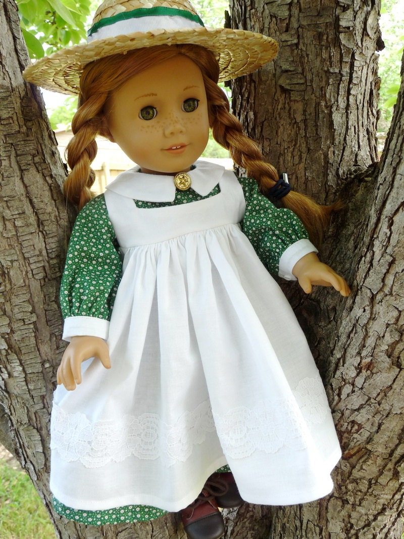 An 18 Year Old Woman Standing In Front Of A Mirror Stock: 18 Doll Clothes Historical Anne Of Green Gables By