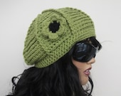 Pistachio Green Hat-Ready to ship