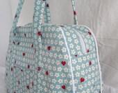 Small Blue Ladybug Bowling Ball Handbag - Reserved